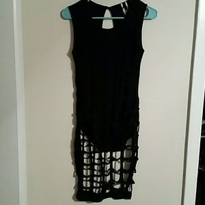 Dresses & Skirts - Caged midi dress.